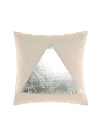 Apex Silver Cushion 50x50cm