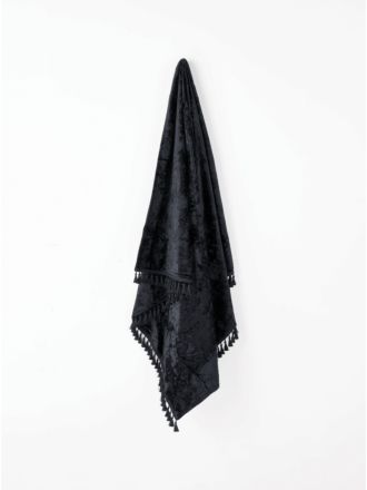 Teramo Black Throw