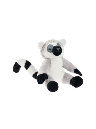 Lorenzo Lemur Novelty Cushion