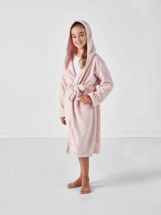 Plush Kids Blush Robe