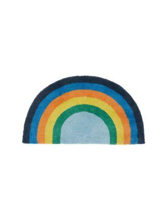 Rainbow Magic Blue Floor Mat