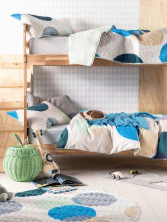 Sundae Blue Quilt Cover Set