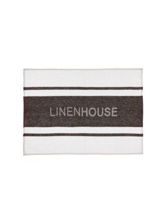 Linen House Espresso Tea Towel