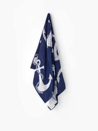 Anchor Beach Towel