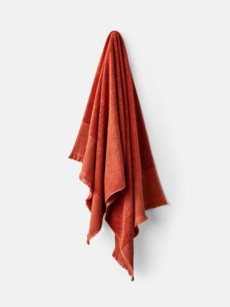 Aria Cotton/Bamboo Paprika Towel Collection