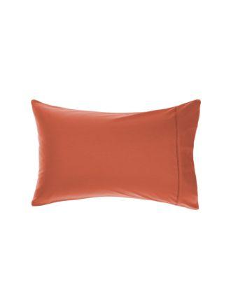 Aria Paprika Bamboo Cotton 600TC Standard Pillowcase