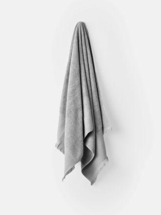 Aria Cotton/Bamboo Silver Towel Collection