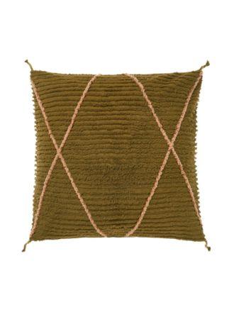 Asha Olive European Pillowcase
