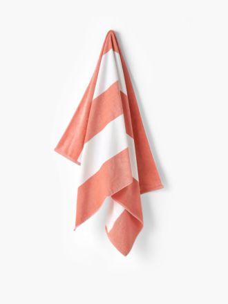 Cabana Peach Beach Towel