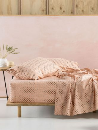 Cleopatra Peach Sheet Set