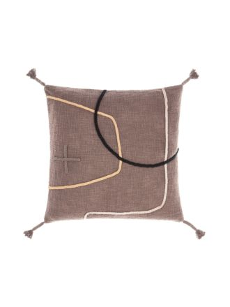 Exon Mocha Cushion 48x48cm