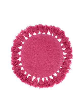 Florida Fuchsia Round Cushion 45cm Round