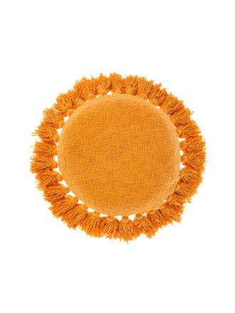 Florida Marigold Cushion 45cm Round