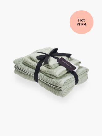 Gelati Wasabi 6-Piece Bath Towel Set