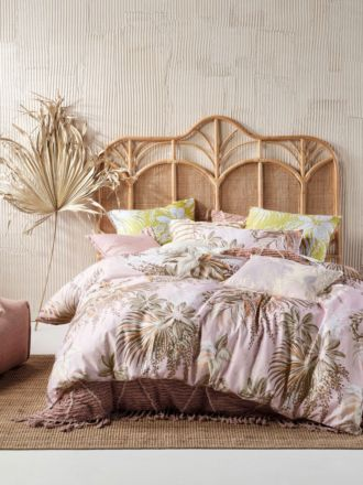Harlow Pink Quilt Cover Set