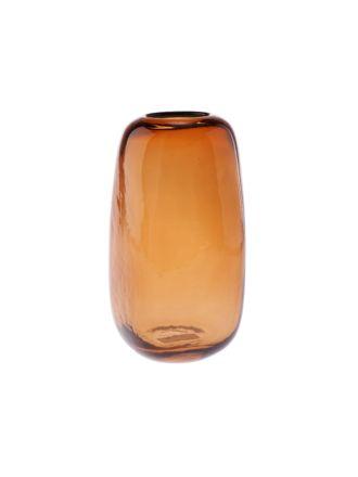 Indiana Amber Vase 22cm