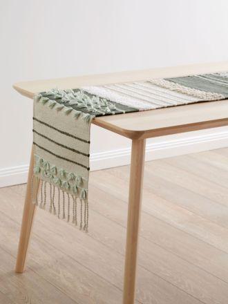 Kakashi Olive Table Runner