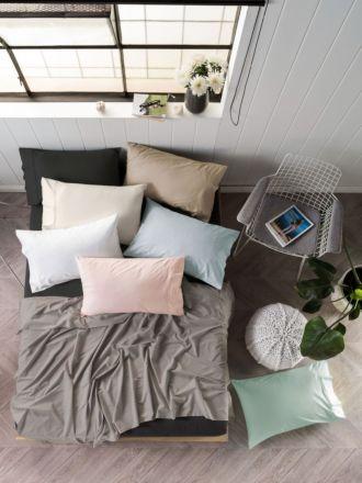 300TC Cotton Sateen Sheet Set - 40CM Wall