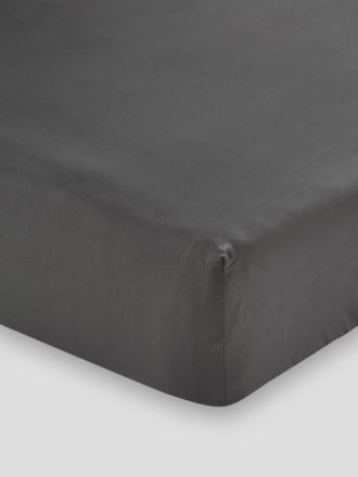 300TC Cotton Sateen Fitted Sheet 50cm