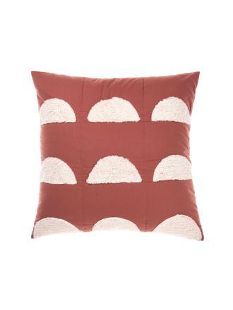 Moonrise Paprika European Pillowcase