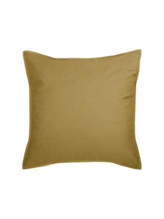 Nara Bamboo Cotton Bronze European Pillowcase