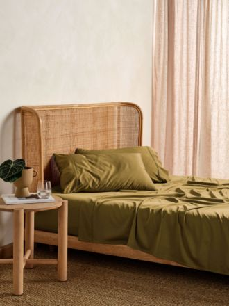 Nara Bronze Bamboo Cotton 400TC Sheet Set