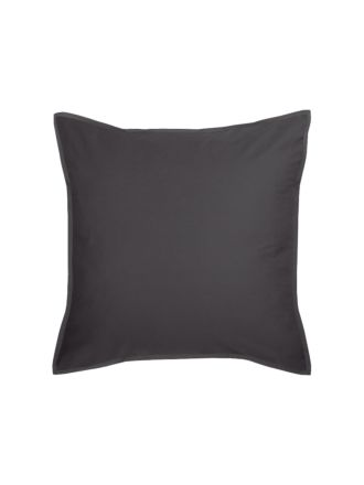 Nara Bamboo Cotton Charcoal European Pillowcase