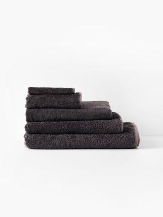 Nara Cotton/Bamboo Charcoal Towel Collection