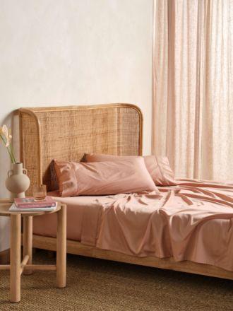 Nara Clay Bamboo Cotton 400TC Sheet Set
