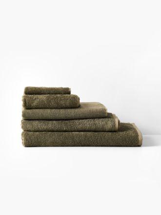 Nara Cotton/Bamboo Moss Towel Collection