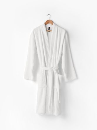 Nara White Bath Robe