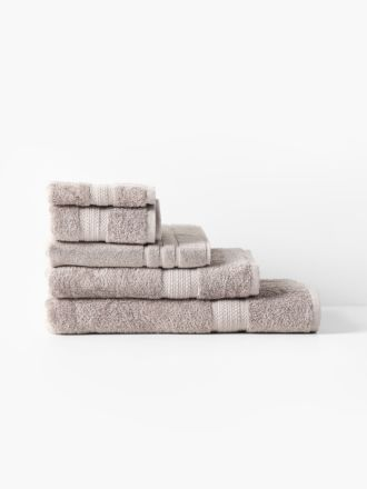 Newport Taupe Towel Collection