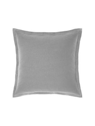 Nimes Ash Linen Tailored Cushion 48x48cm