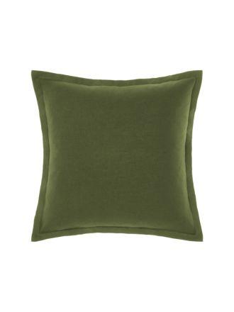 Nimes Fern Linen Tailored Cushion 48x48cm