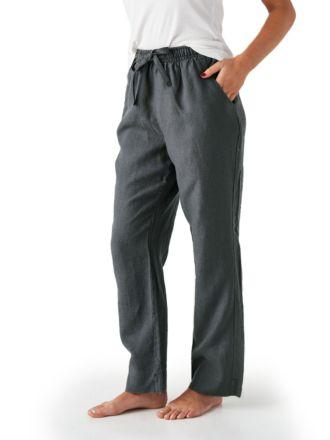 Nimes Magnet Linen Pants