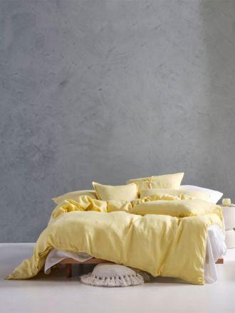 Nimes Meadow Linen Quilt Cover Set
