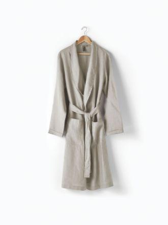 Nimes Natural Linen Robe