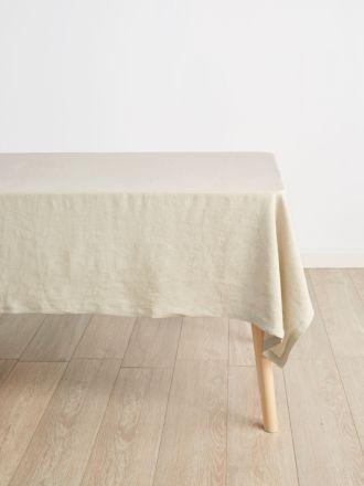 Nimes Natural Linen Tablecloth – Medium
