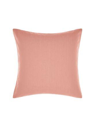 Nimes Rosette Linen European Pillowcase