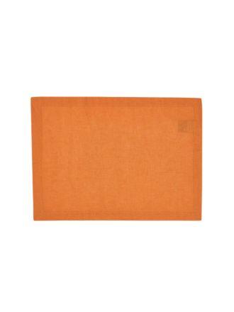 Nimes Terracotta Linen Placemat