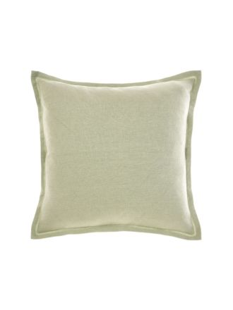 Nimes Wasabi Linen Tailored Cushion 48x48cm