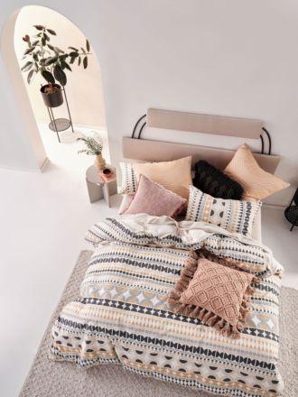 Penina Biscotti Quilt Cover Set