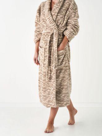 Plush Tiger Robe