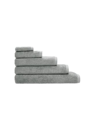 Reed Grey Towel Collection