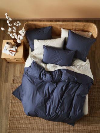 Terra Organic Cotton Midnight Quilt Cover Set