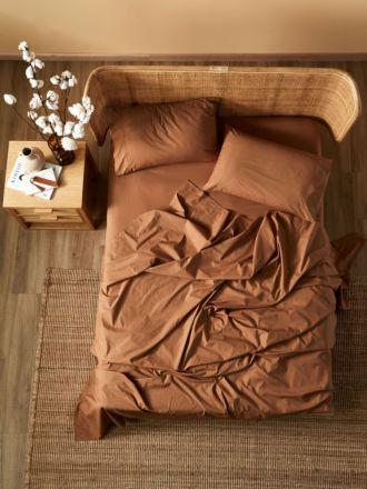 Terra Organic Cotton Pecan Sheet Set