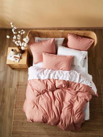 Terra Organic Cotton Rosette Quilt Cover Set