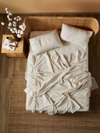 Terra Organic Cotton Stone Sheet Set