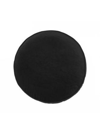 Toro Black Cushion 43cm Round