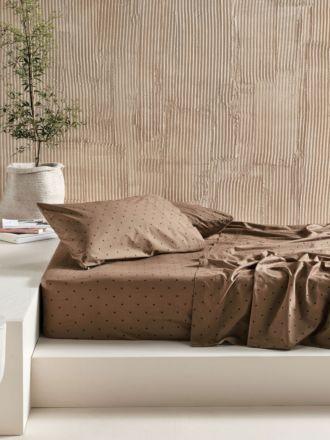 Vivienne Timber Sheet Set
